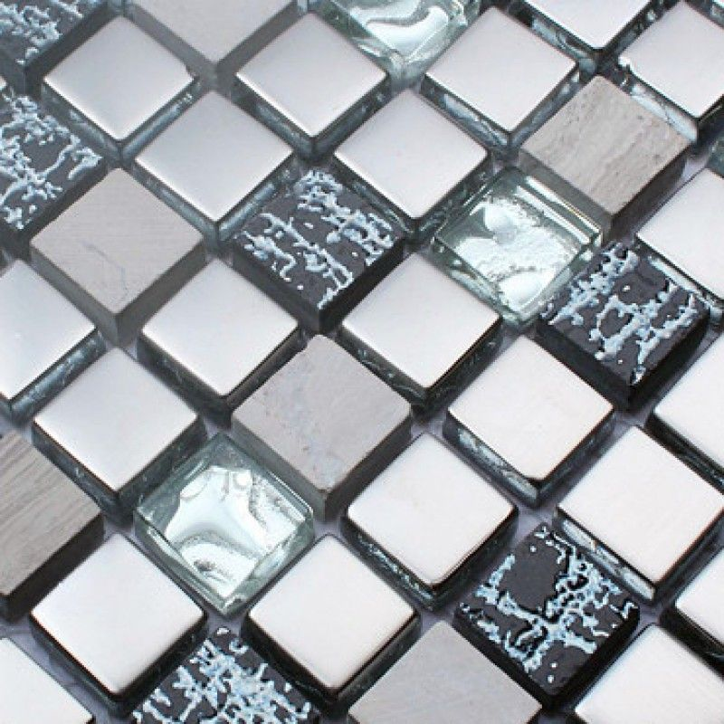 Stone And Glass Tiles Hand Painted Marble Kitchen Backsplash Cheap Plated  Crystal Glass Mosaic Bathroom Wall