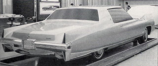 1971 Cadillac Coupe De Ville Styling Clay