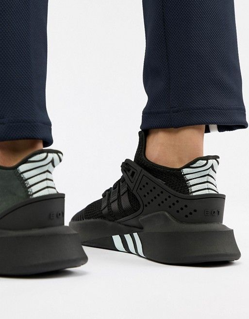 first rate d63f8 bfda7 adidas Originals EQT Bask ADV Sneakers In Black CQ2991
