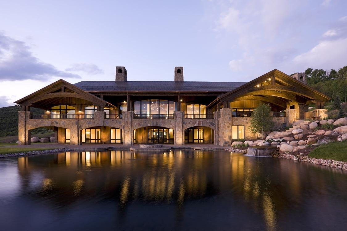 House over the lake in aspen colorado dream homes for Colorado dream home