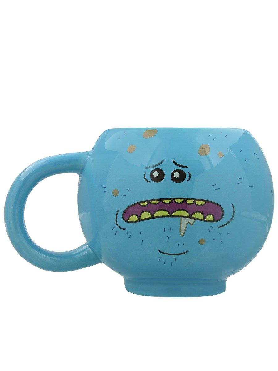 f066d5f55 Rick and Morty Mr Meeseeks 3D Mug in 2019 | Rick and Morty Gifts ...