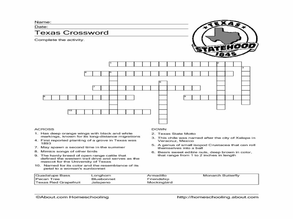Texas History Worksheets Seventh Grade