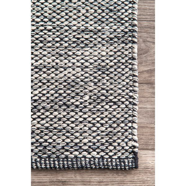 Parnell Hand-Woven Gray Area Rug