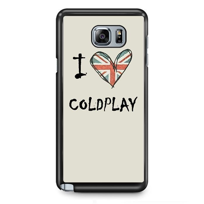 Coldplay Love TATUM-2770 Samsung Phonecase Cover Samsung Galaxy Note 2 Note 3 Note 4 Note 5 Note Edge