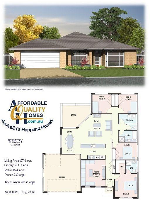 House Plan Rumah Desain Gedung