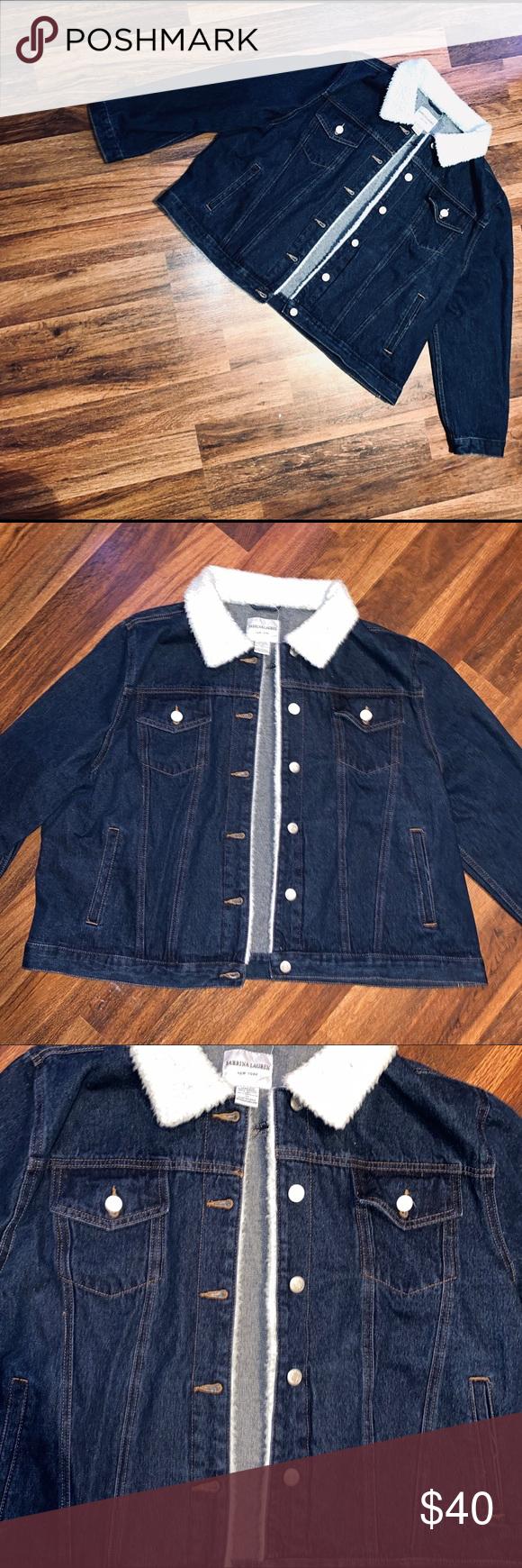 Sabrina Lauren Dark Blue Jean Jacket This Is In Great Shape It Has No Stains Holes Or Tears It Has One Or Blue Jean Jacket Dark Blue Jeans Jean Jacket [ 1740 x 580 Pixel ]