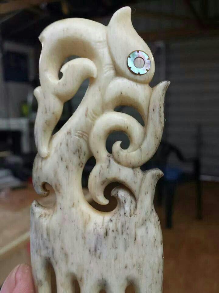 Nz Whale Bone Bone Carving Bone Art Maori Art