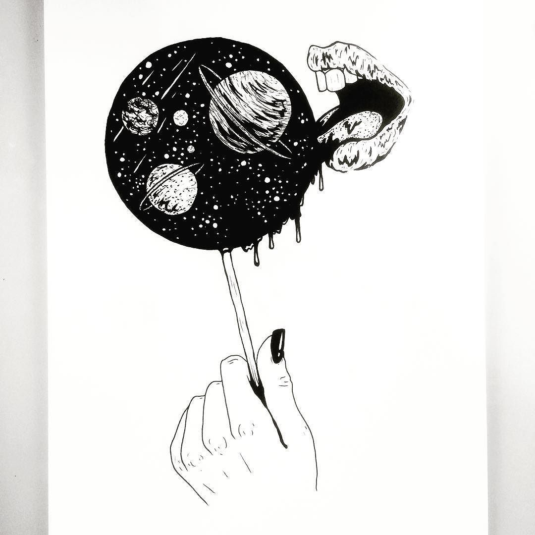 Provocative-planet-pics-please.tumblr.com I Think Im Obsessed With Space. #space #lollipop #art ...
