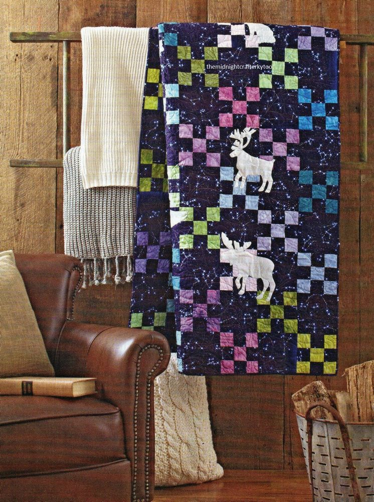 Northern Sights Quilt Pattern Pieced/Applique SG | Patterns and Craft : quilt junction waterford ontario - Adamdwight.com