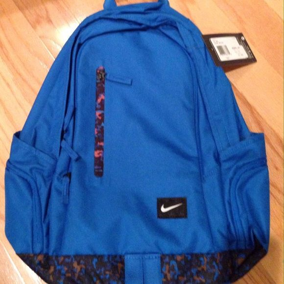 NWT Nike All Access FullFare Backpack Get organized with this New (with  tag) Nike authentic All Access FullFare Backpack Bag Soar Deep Royal Blue  style  ... 367433538a