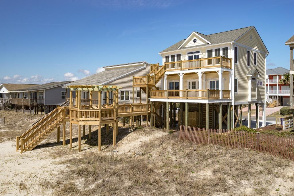 New house available for summer rentals oak island nc