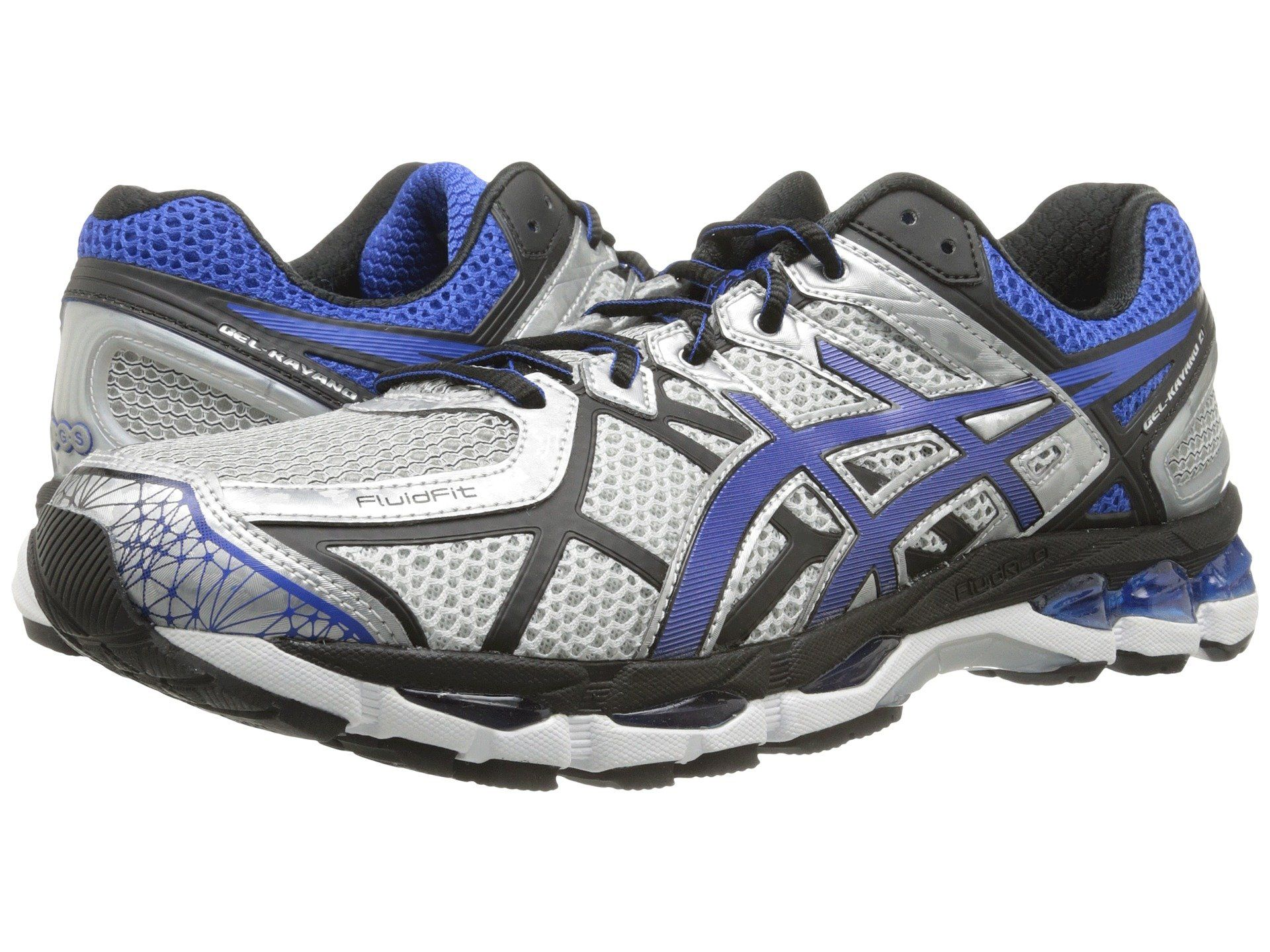 timeless design aa142 f6e61 ASICS Women s Gel kayano 21 Running Shoe  Color  Quick Silver White  Lightning
