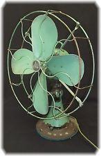 Electric Fan 1940s Emerson 79648AK Military Green Works! 16