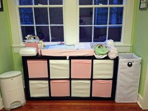 changing table for twins