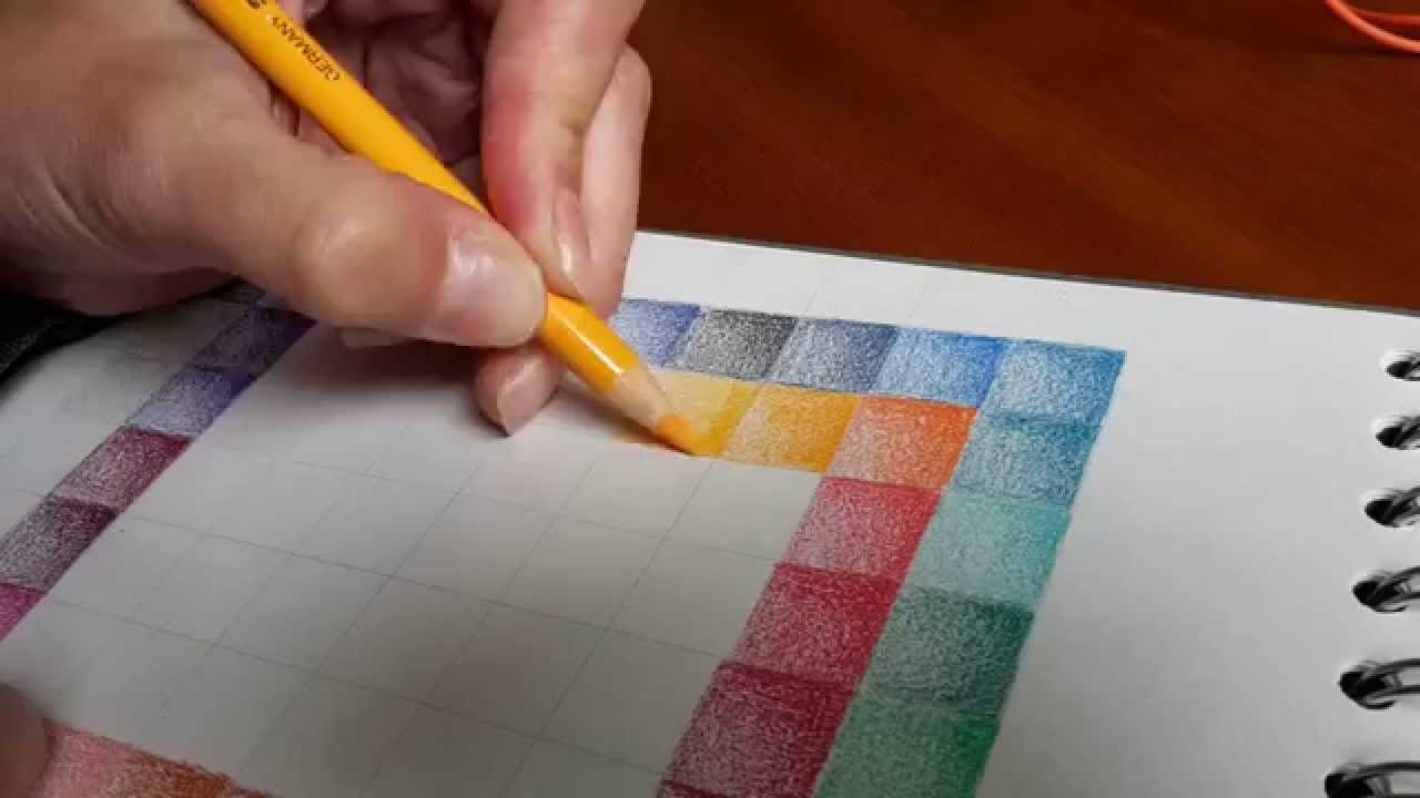 Making a colour chart - Faber Castell Polychromos (HOW TO)