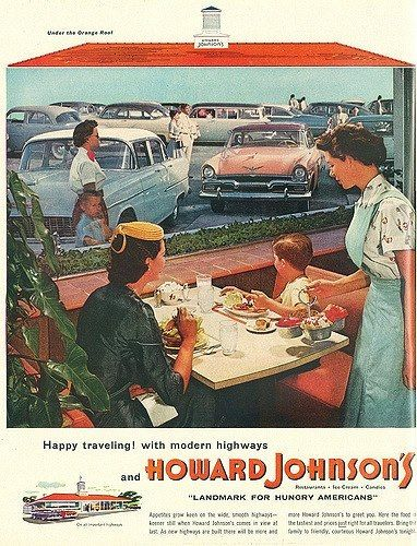 Howard Johnsons Restaurant Ad