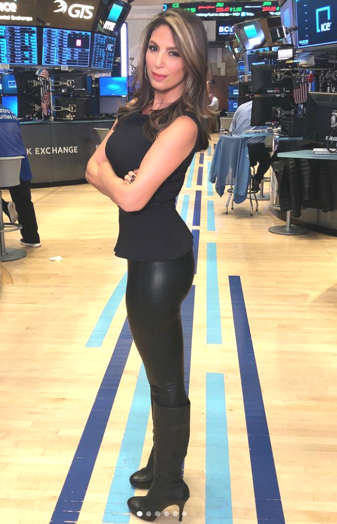 260d7a3d6d6 THE APPRECIATION OF BOOTED NEWS WOMEN BLOG   NICOLE PETALLIDES SHOWS OFF  HER WALL STREET STYLE