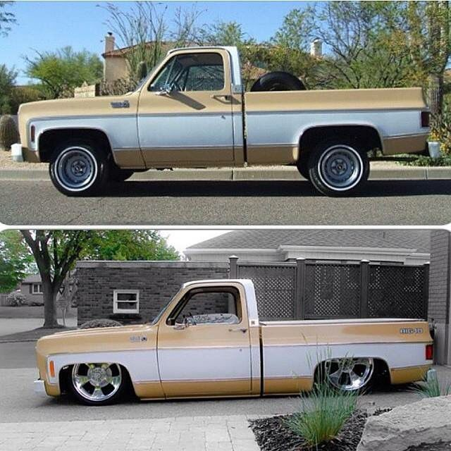 Before After Suburban Blazer And Other C Trucks Pinterest