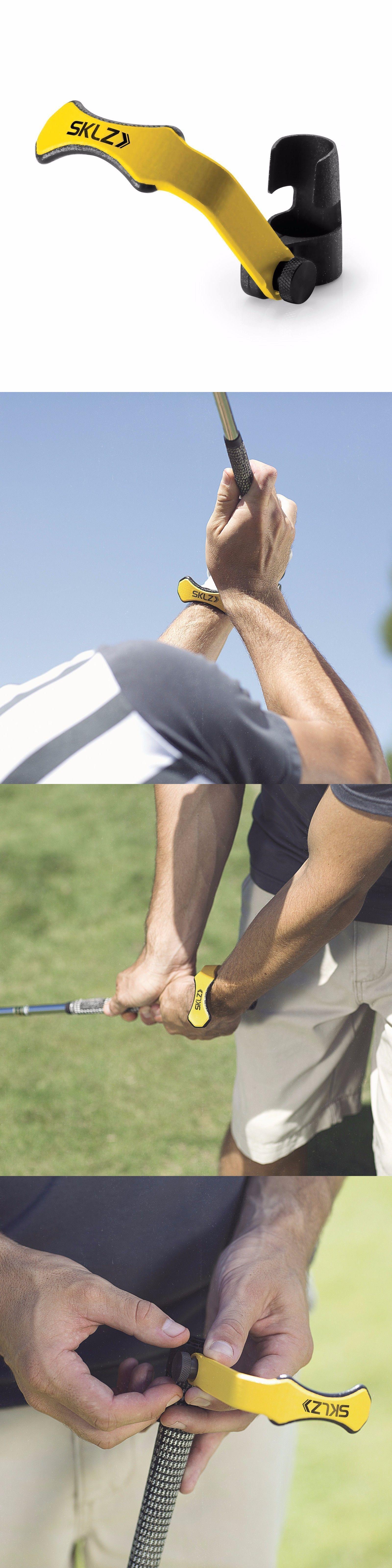 Swing Trainers 83037 Sklz Hinge Helper Promotes Wrist Correct Wrist Hinge Golf Training Aid Buy It Now Only 30 5 Golf Training Swing Trainer Golf Swing