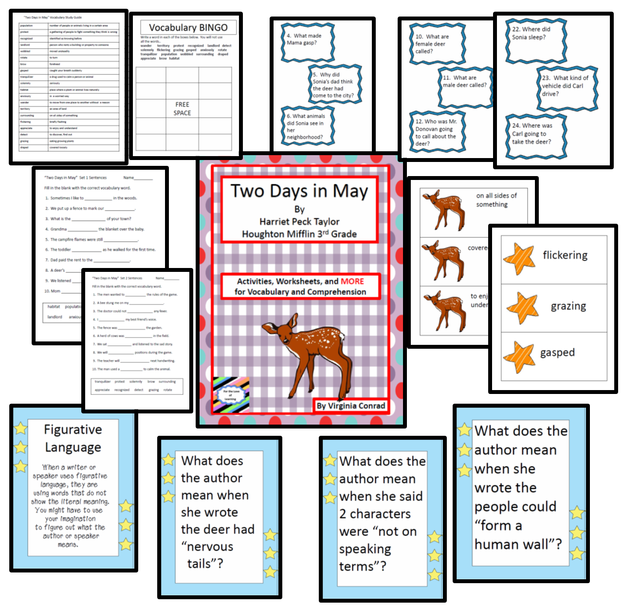 Two Days In May Third Grade Houghton Mifflin