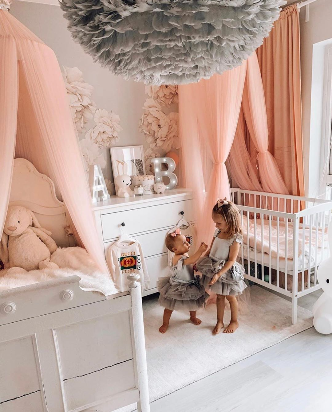 Decor Toys Baby Clothing On Instagram Absolute Room Goals Sister Goals In 2020 Princess Kids Room Shared Girls Room Toddler And Baby Room