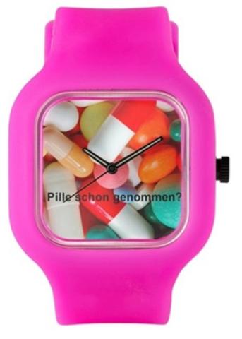 Armbanduhr Pille Schon Genommen Das Witzige Geschenk Für Jeden