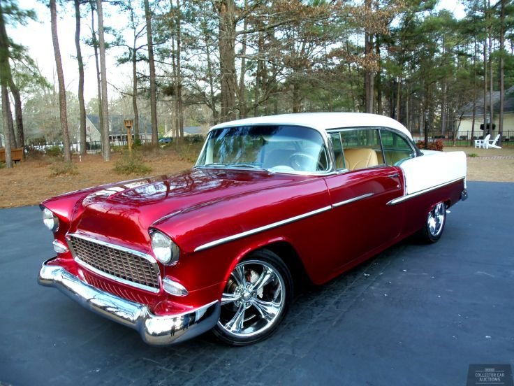 1955 Chevrolet Bel Air 350ci 4 Speed Auto Hot Rod Classic Cars