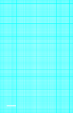 This LedgerSized Graph Paper Has TwentyTwo Aqua Blue Lines Every