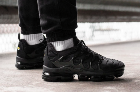 size 40 abb84 6c03e Nike Air VaporMax Plus Triple Black Arriving Next Week