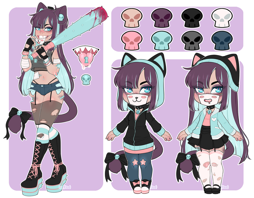Guest Lockette Adopt 3 Closed By Lunaofwater On Deviantart In 2020 Character Design Inspiration Character Design Cute Drawings