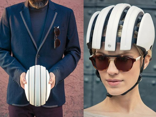 Carrera Foldable Helmet A Bike Helmet With A Collapsible Frame
