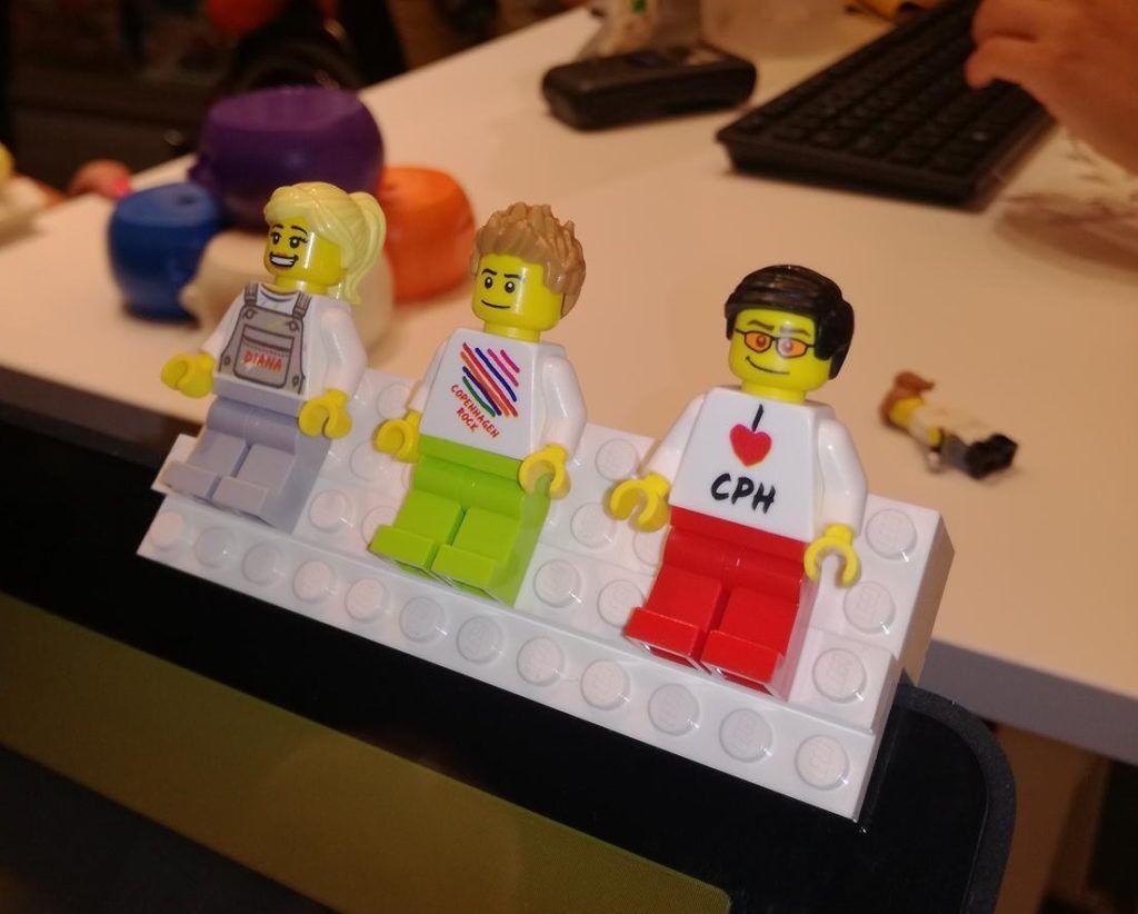 LEGO Coffee Barista Torsos Minifigure