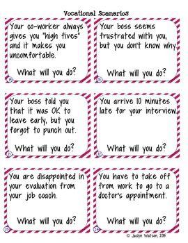 problem solving scenarios for students