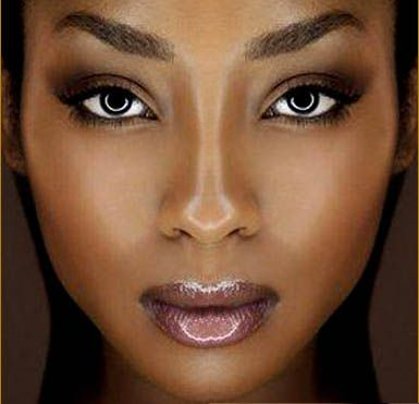 Your Brown Skin Makes YOU Beautiful   Black women and Makeup