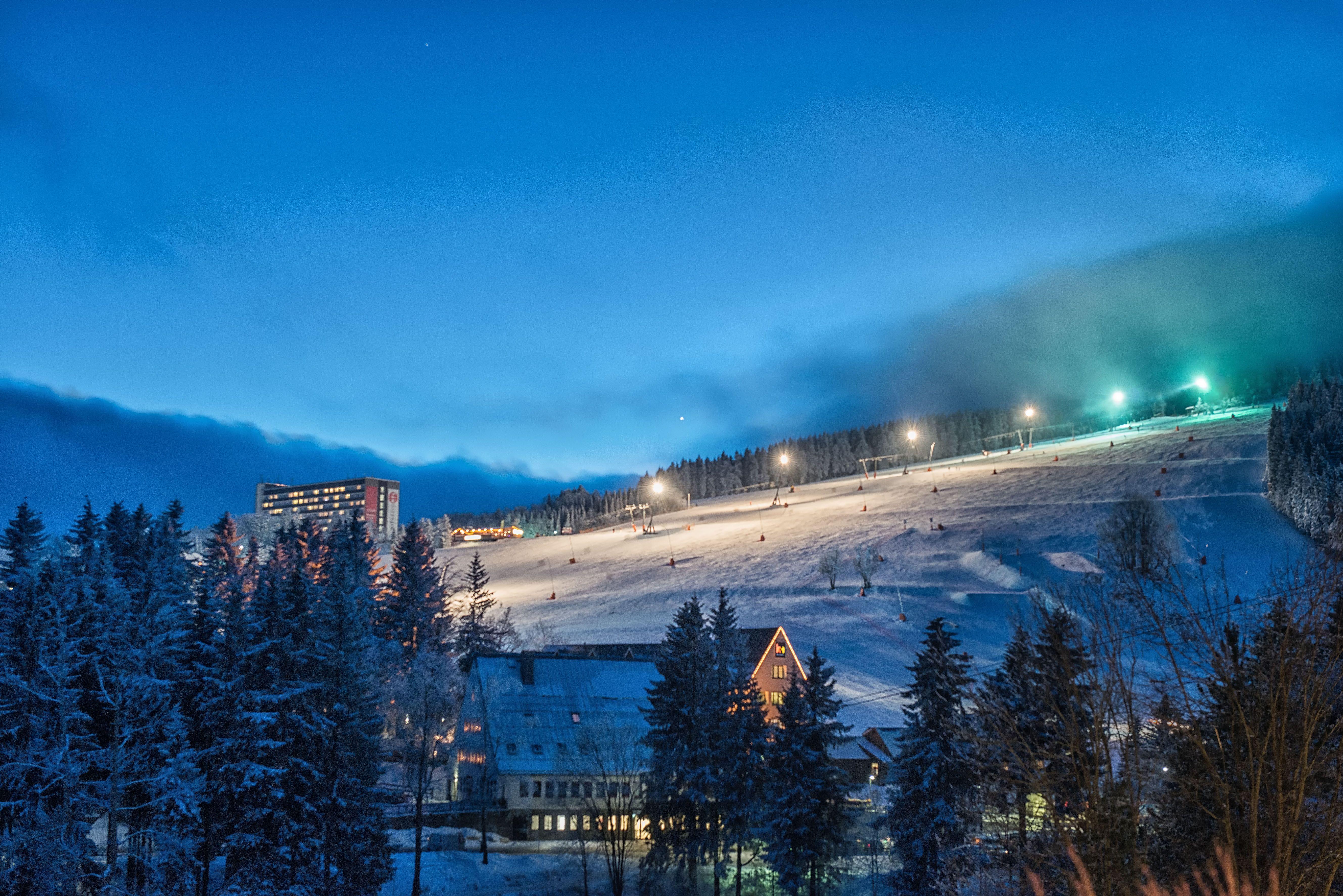 Nachtskilauf am Fichtelberg - habt ihr es schon einmal probiert?