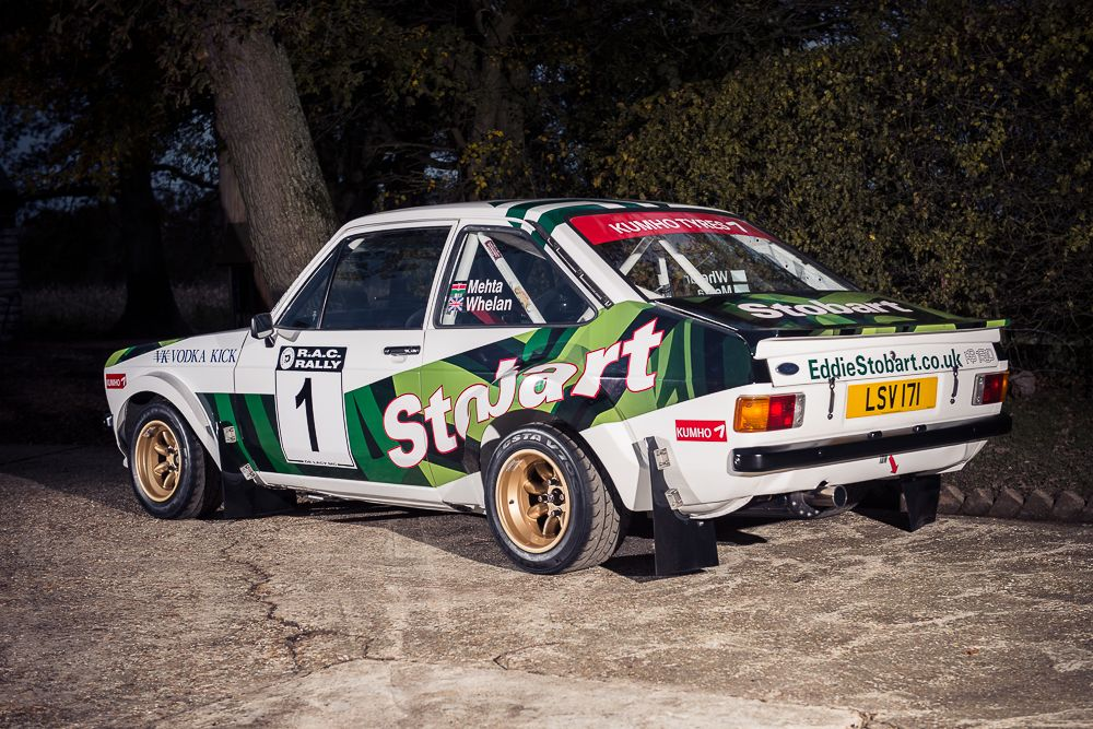 1977 Ford Escort Mk2 Escort RS1800 Gp4 Historic Rally Car rear 34 ...