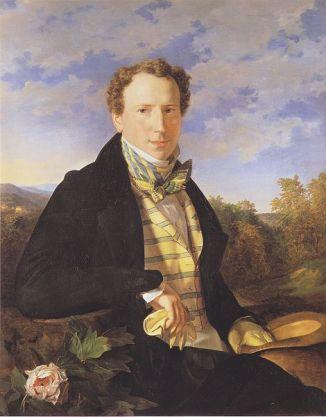 Self-Portrait, 1828 (Ferdinand Georg Waldmüller) (1793-1865) Österreichische Galerie Belvedere, Wien
