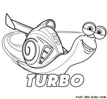 Printable Disney Turbo Coloring Page Printable Coloring Pages For Kids Ausmalbilder Ausmalen Bilder