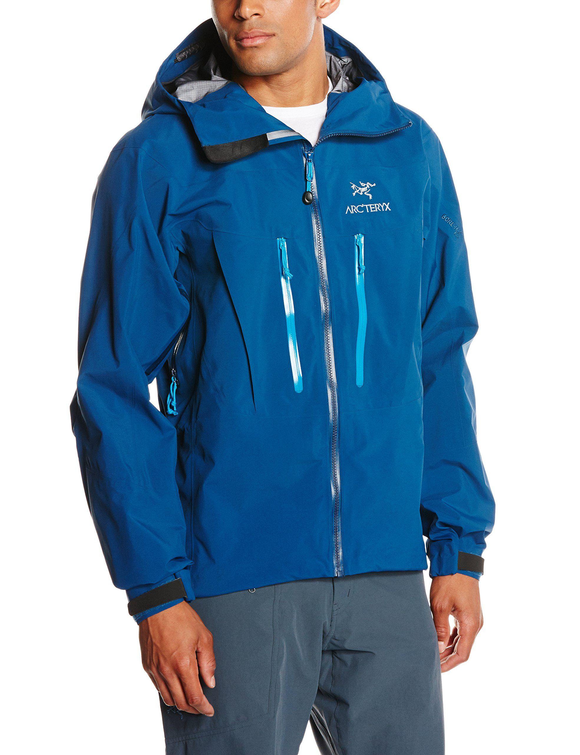 Arcteryx Alpha SV Jacket Mens Poseidon Small Be sure to