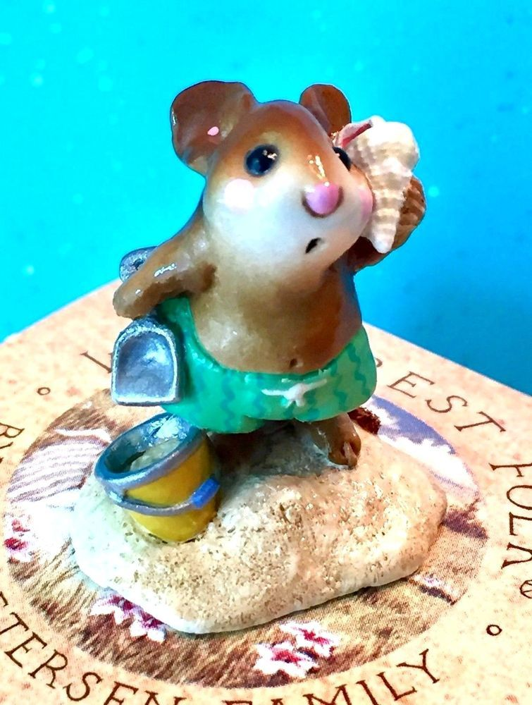 Wee Forest Folk M179 Sea Sounds 1991 2007 Retired New Original Wff