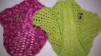 Crochet Carré Magique Granny Très Facile Débutant Shrug
