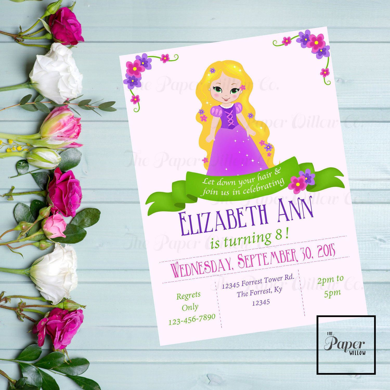 A tangled birthday invitation rapunzel editable instant download a tangled birthday invitation rapunzel editable instant download print yourself editable pdf tangled birthday party invite by paperwillowdesigns on etsy filmwisefo