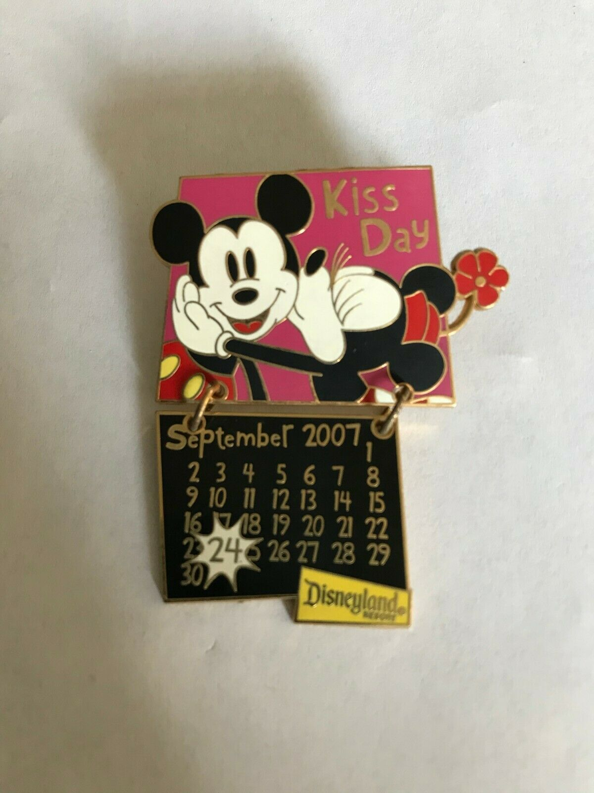 Pin 52195 Dlr 2007 Calendar Collection September Mickey