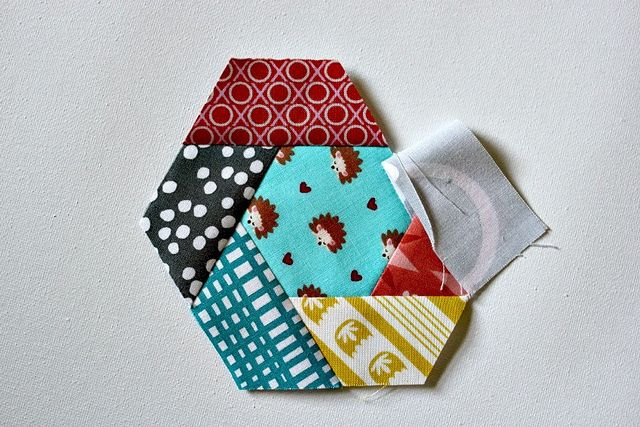 How To Make A Twisted Half Hexagon Block Sew As You Go