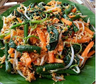 Resep Dan Bahan Bahan Yang Dibutuhkan Untuk Membuat Urap Sayur Resep Masakan Makanan Sehat