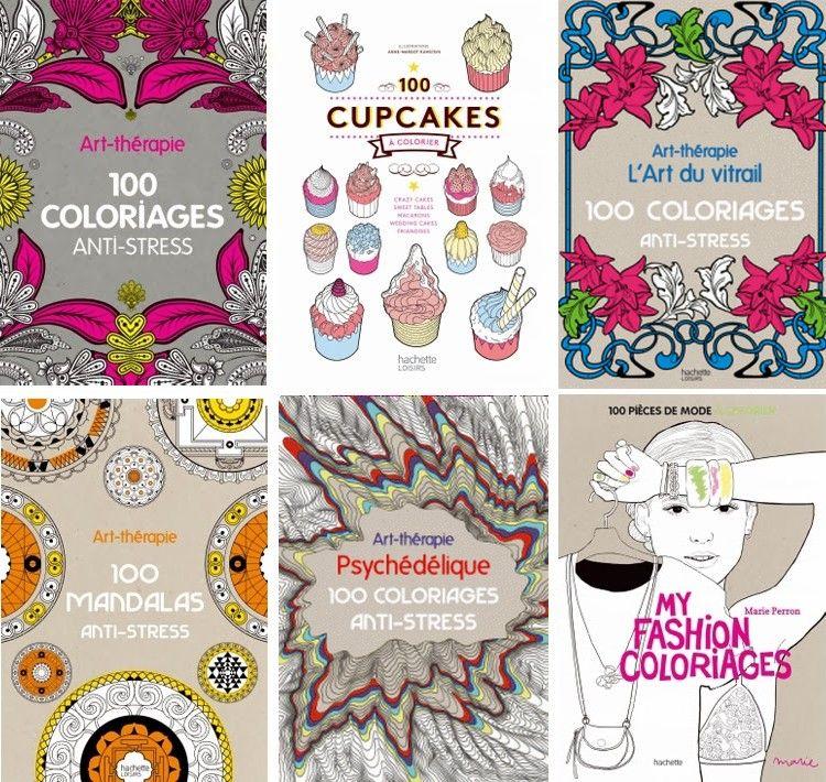 art therapie livre coloriage hachette - Livre De Coloriage Anti Stress