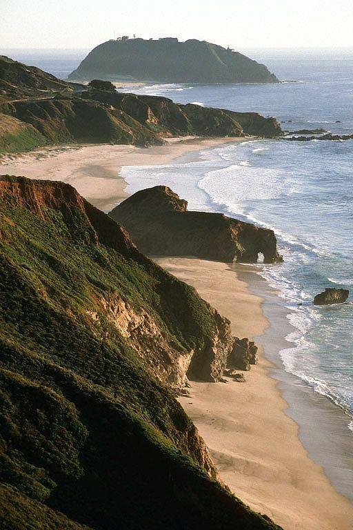 Point Sur Big Sur California By Bill Hocker California