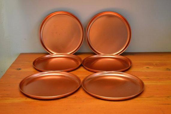 Copper Dinner Plates & Copper Dinner Plates   copper kitchen   Pinterest   Vintage ...