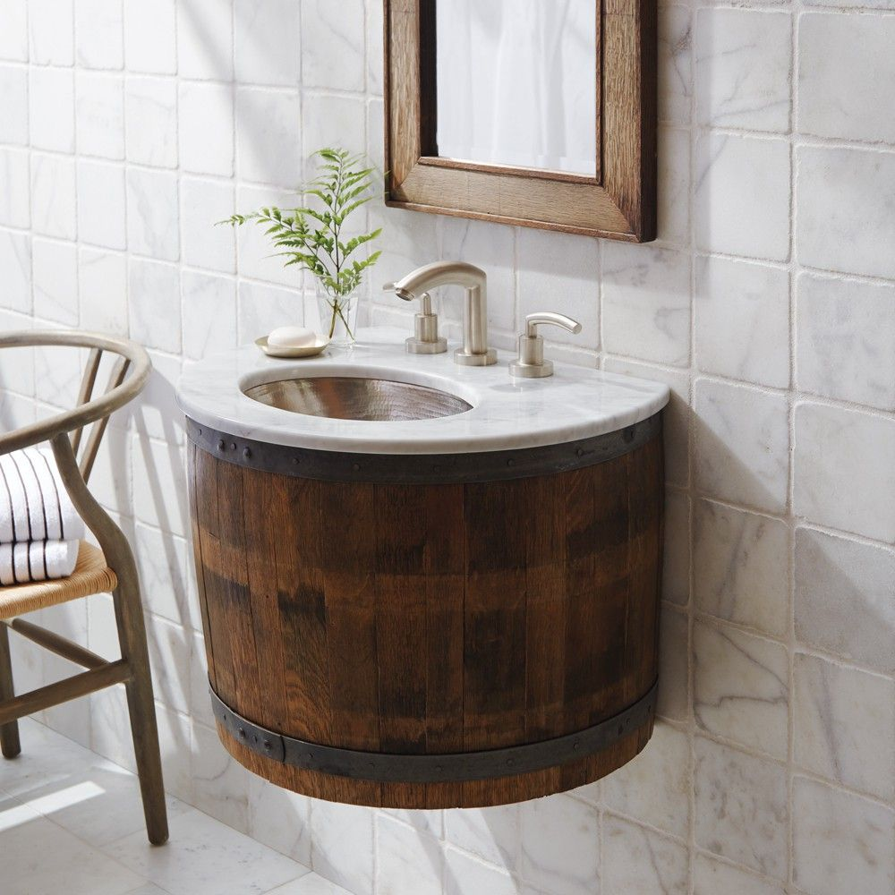 Native Trails Bordeaux Wall Mount Vanity Artisan Made from A