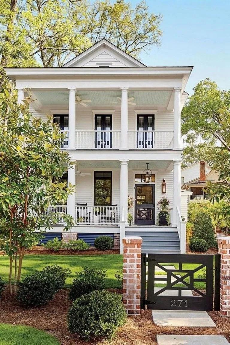57 Most Beautiful Ideas For Farmhouse Design housedesign